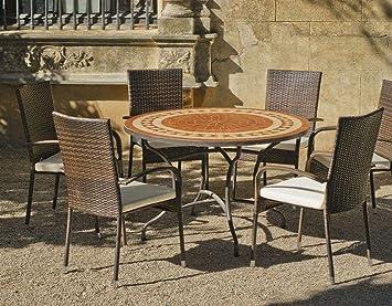 Hevea - HEVEA - Table de jardin ronde \