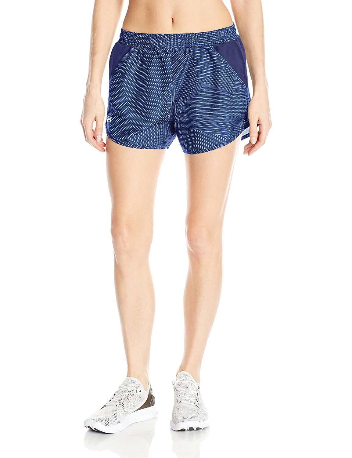 Under Armour Womens Fly-By Perforated Shorts Under Armour Apparel 1297126