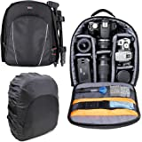 DURAGADGET 14 tum vadderad ryggsäck ryggsäck ryggsäck väska - kompatibel med Canon EOS & PowerShot Range - Nu med…