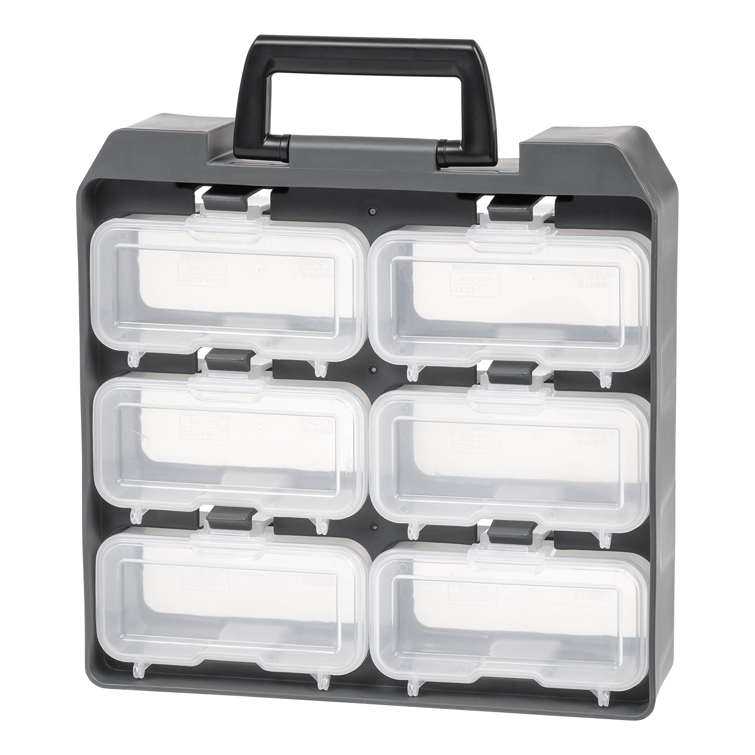 IRIS USA 6 Compartment Utility Case, Gray by IRIS USA, Inc.