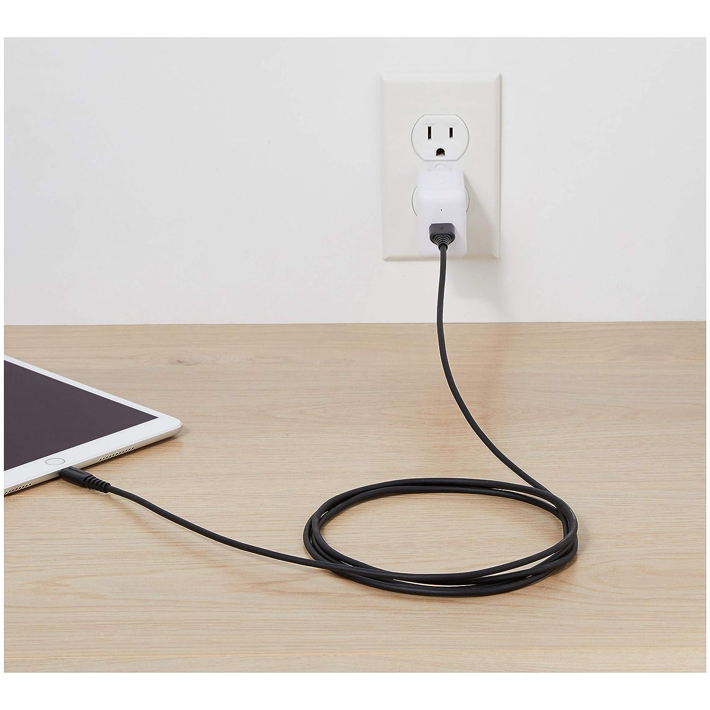 Blanc 1,8 m Basics C/âble Lightning vers USB A Certifi/é Apple MFi