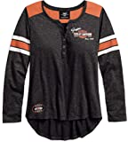 Harley-Davidson Women's Genuine Oil Can Henley