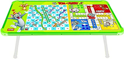 Zitto Tom and Jerry Multipurpose Wooden Gaming Foldable Table