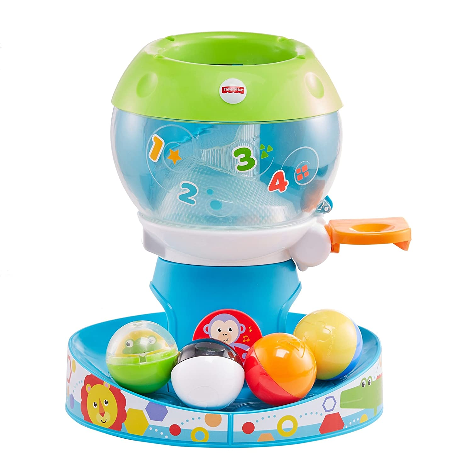 Amazon.com: Fisher-Price Baby Go Swirl \'n Tunes Gumball n, Multi ...