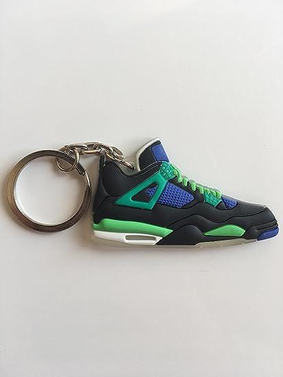 timeless design dbf53 56df3 Amazon.com : Jordan Retro 4 Doernbecher Sneaker Keychain ...