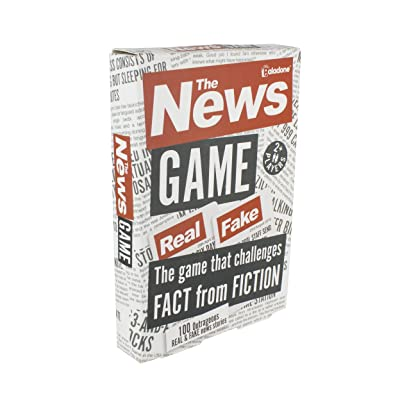 Paladone The News Game - Fact or Fiction Quiz Game: Toys & Games