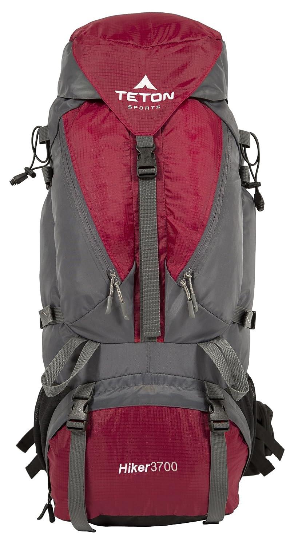 TETON Sports Hiker 3700 Zaino con Telaio Interno, Unisex adulto, Rosso 1005