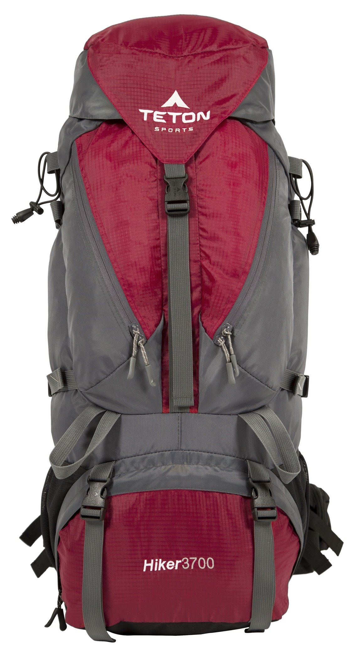 TETON Sports Hiker 3700 Ultralight Internal Frame Backpack - Not Your Basic Backpack; High-Performance Backpack for Hiking, Camping, Travel, and Outdoor Activities; Sewn-In Rain Cover; Red by TETON Sports