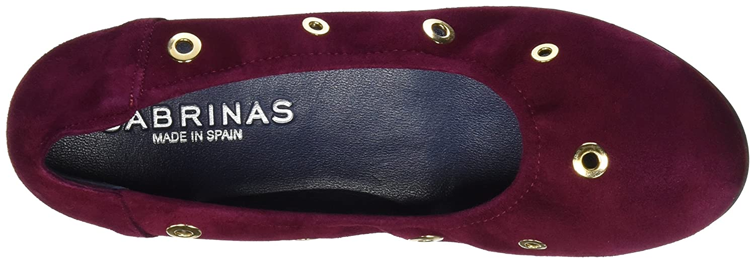 Sabrinas Damen London Ballerinas Geschlossene Ballerinas London Rot (Burdeos) 11e4d9