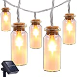 Amazon Price History for:Solar String Lights Outdoor,Oak Leaf 9.8 ft 30 LEDs Waterproof Glass Jar LED Fairy Lights for Outdoor Garden Backyard Wedding Party,Warm White