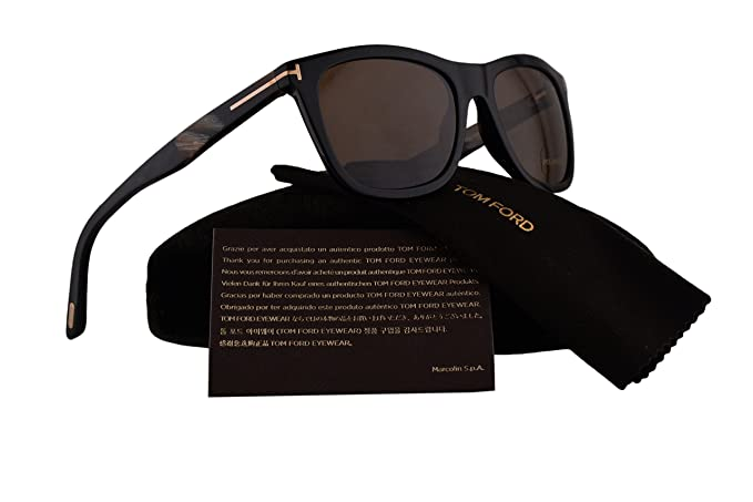 440cc1486db Image Unavailable. Image not available for. Colour  Tom Ford FT0500 Andrew  Sunglasses ...