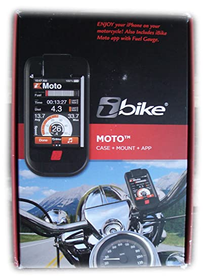 Ibike Ibike Moto (7001) Motorbike Motor Cycle Case Mount And Downloadable For Apple Iphone