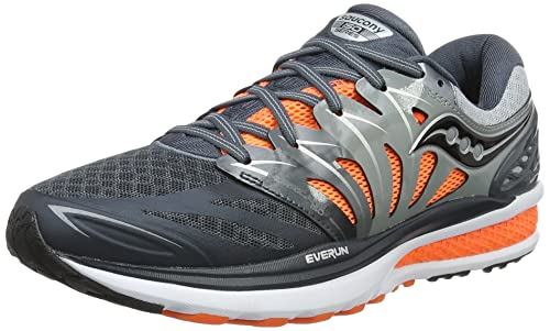 Saucony Hurricane Iso 2, Men's Training Shoes, Multicoloured (Grey/Charcoal /Or