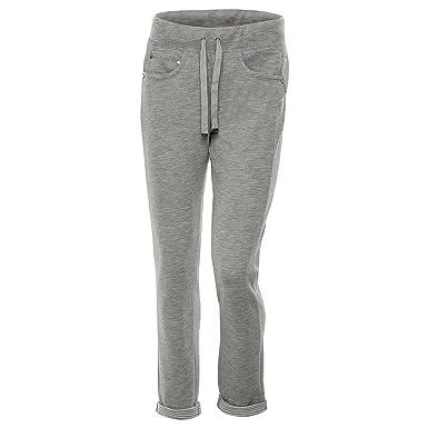 FREDDY Pantalon en Molleton à Cinq Poches avec Tissu rayé à l intérieur   MainApps  Amazon.fr  Vêtements et accessoires 64b013a498a