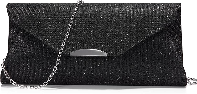 Evening Bag Clutch Bridal Wedding Party Purse Wallet Shoulder Chains Prom Ring