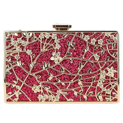 Fawziya Floral Evening Bags And Clutches Envelope Clutch Bags For Women -Fuschia c95cf5007c64