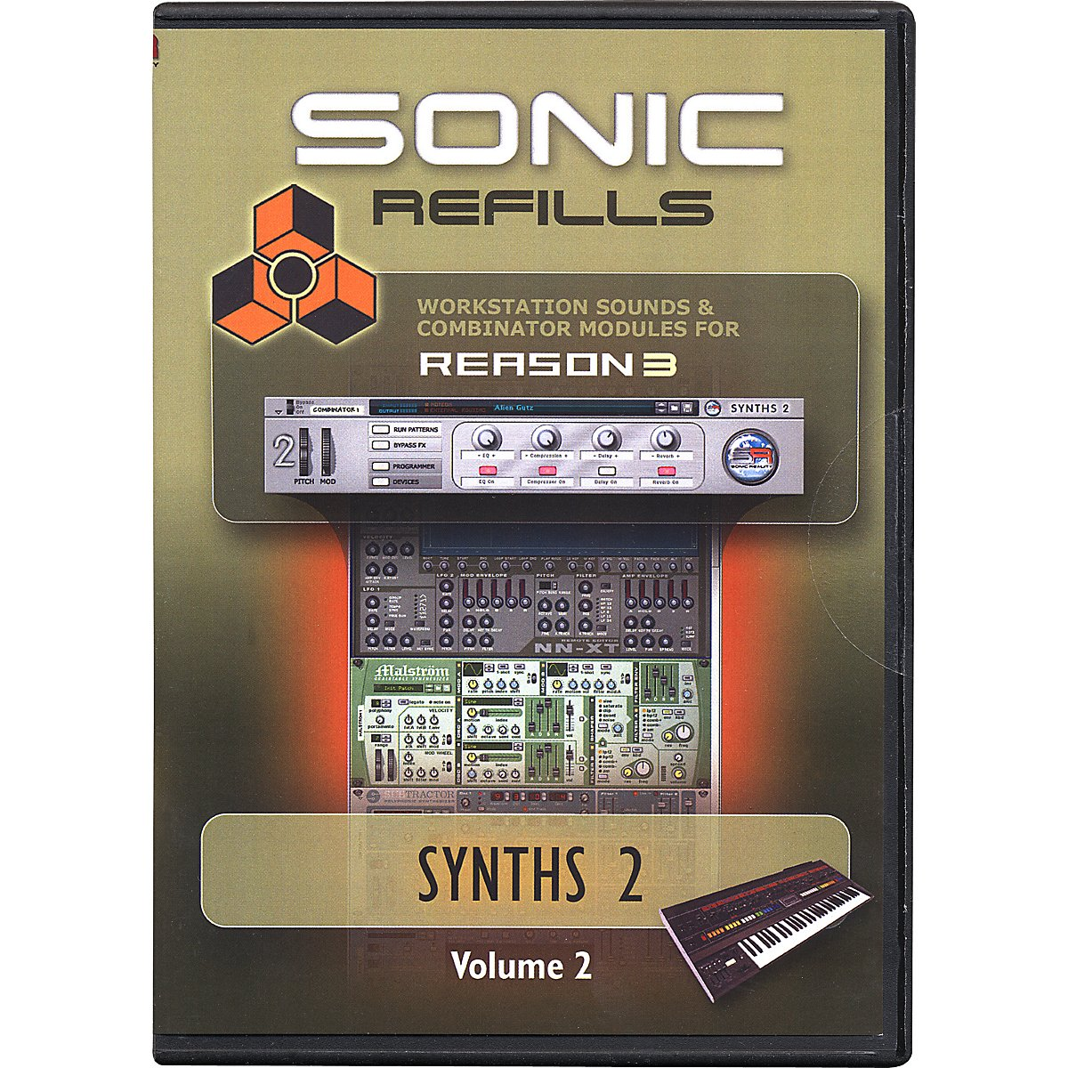 Sonic Reality Reason 3 Refills Vol. 02: Synths 2 by Sonic Reality