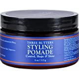 Shea Moisture Three Butters Styling Pomade, 4 Ounce