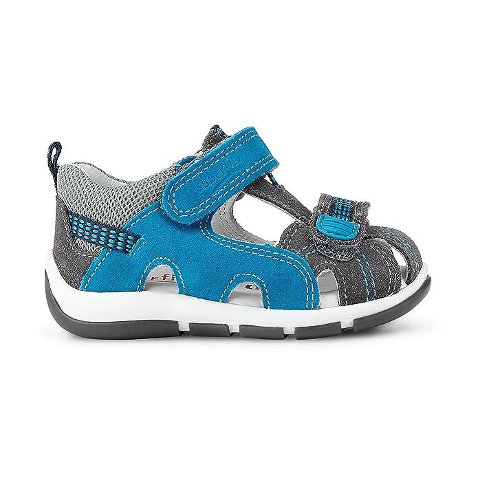 3eda588981ae5 superfit Enfants Sandales Gris Bleu Garçon Sandale en Cuir de la Taille 20  à 25, Farben Grau Kinder Größen 23  Amazon.fr  Chaussures et Sacs