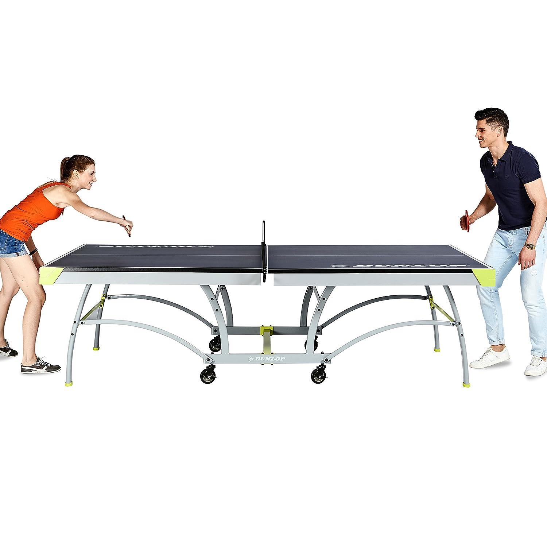 Amazon.com : DUNLOP TTT218_117D Official Table Tennis Table, Blue : Sports  U0026 Outdoors