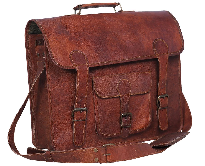 Amazon.com: Komal's Passion leather 16 Inch Handmade Leather ...