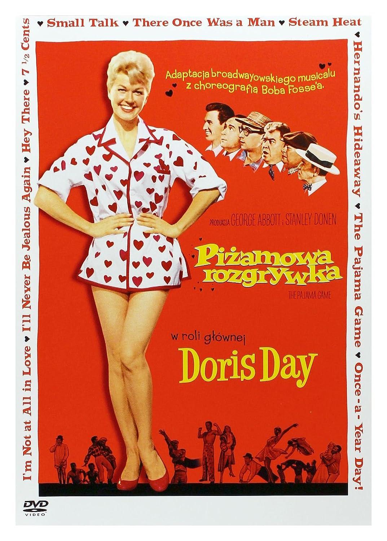 Juego de pijamas DVD Region 2 Audio español. Subttulos en español: Amazon.es: Doris Day, John Raitt, Carol Haney, Eddie Foy Jr., Reta Shaw, Barbara Nichols, ...