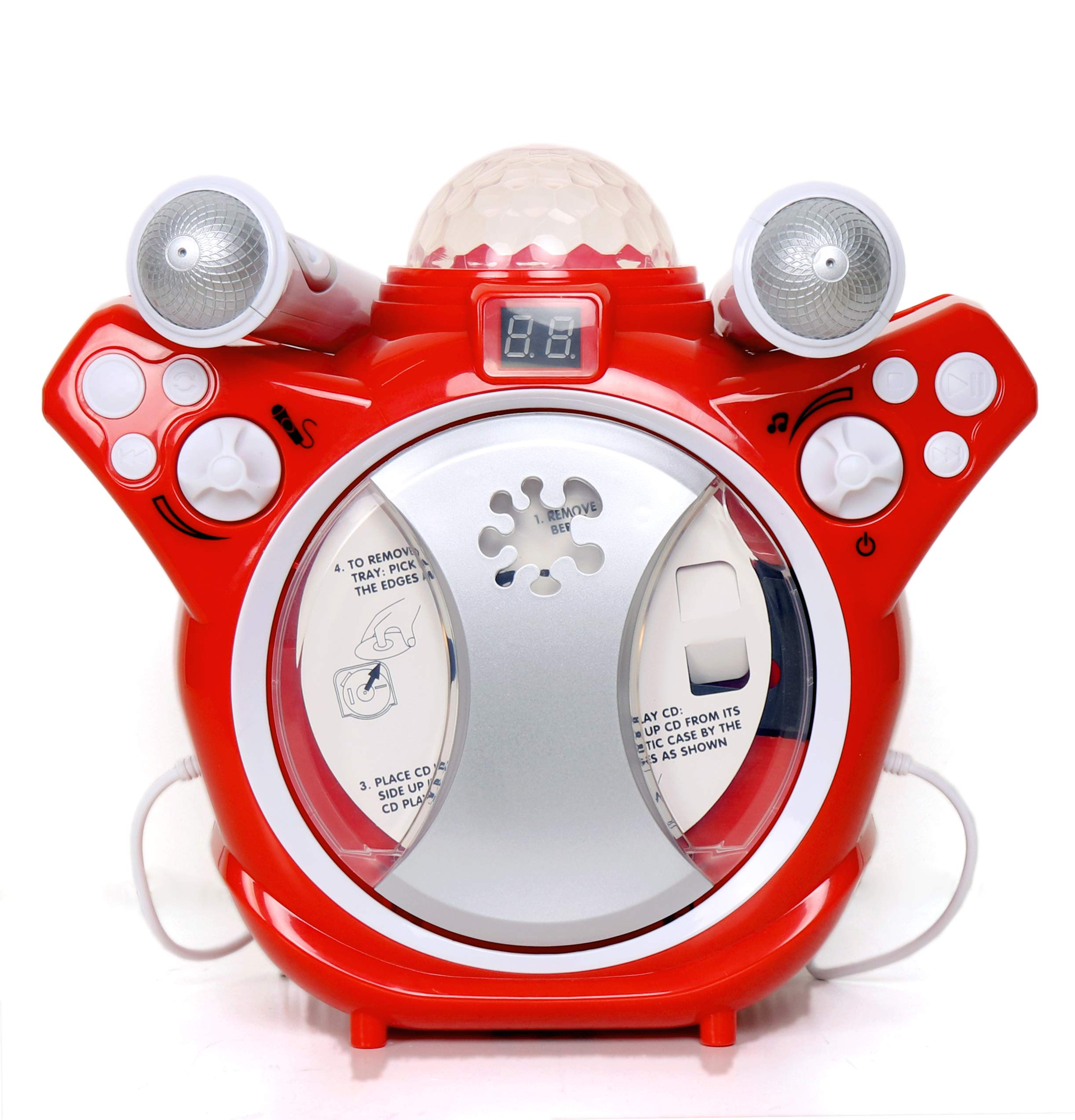 C.Z Kids Karaoke CD Player Listen or Sing Along to Your Favourite Songs by C.Z (Image #3)