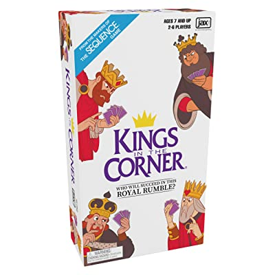 Kings in the Corner - The Traditional Gameplay of Solitaire with a Twist, for the Whole Family!: Toys & Games