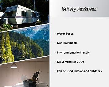Liquid Rubber RV Roof Coating Sealant White 5 Gal