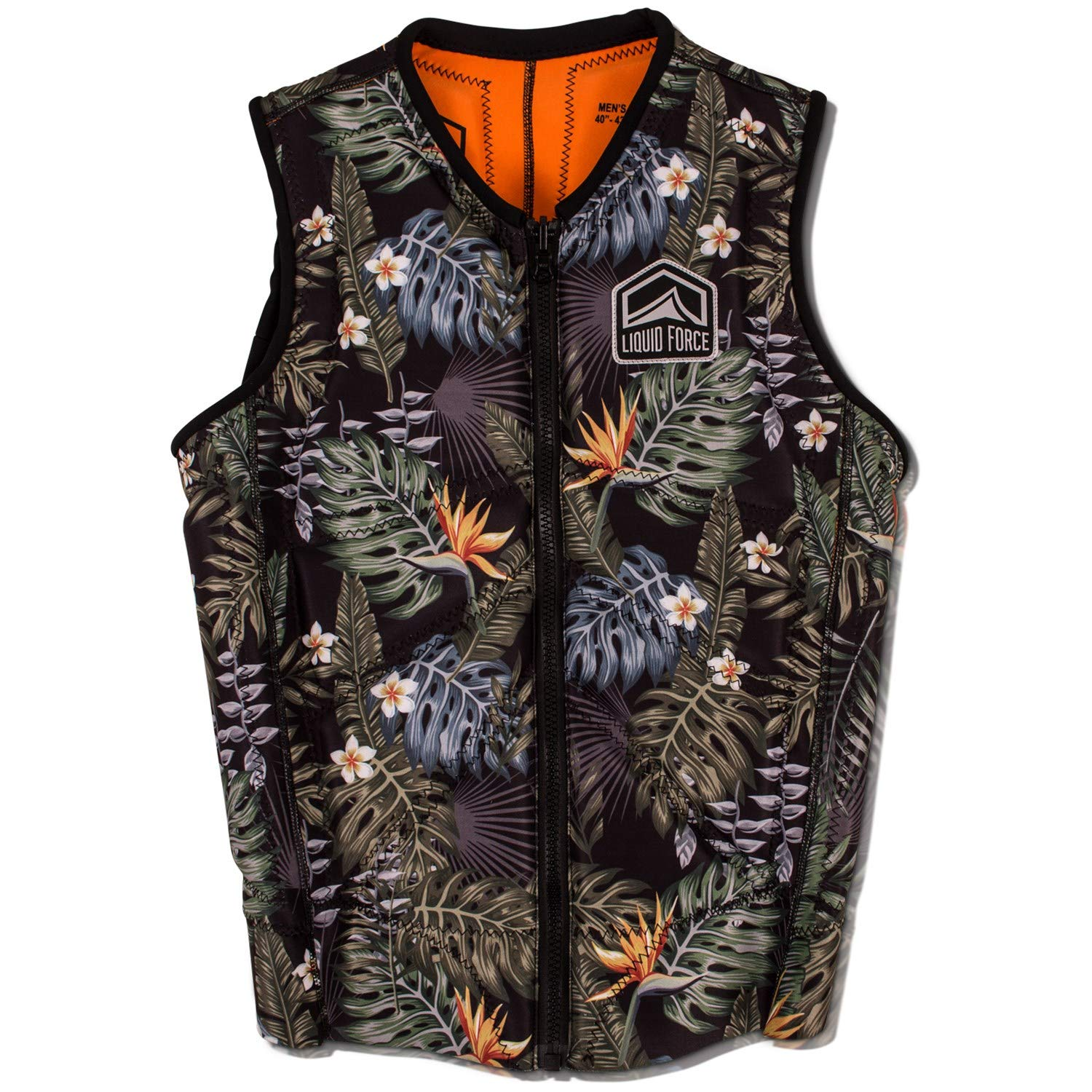 Liquid Force Z-Cardigan Comp Wakeboard Vest 2019 - Large by Liquid Force