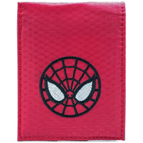 Cartera de Ultimate Spider-Man Mascara Facial Rojo