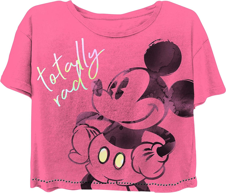 Disney Ladies Mickey Mouse Fashion Shirt Ladies Classic Mickey Mouse Clothing Mickey Mouse Big Character Tee