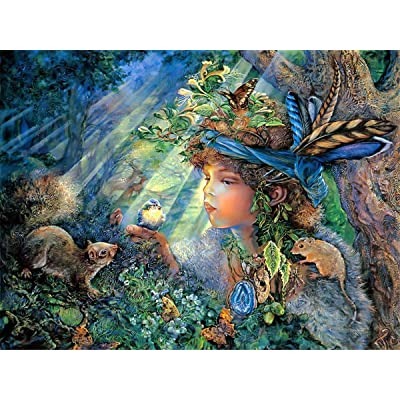 Puzzles for Adults 1000 Piece Large Puzzle, Vintage Paintings Landscape Jigsaw Puzzle(Spirit): Toys & Games