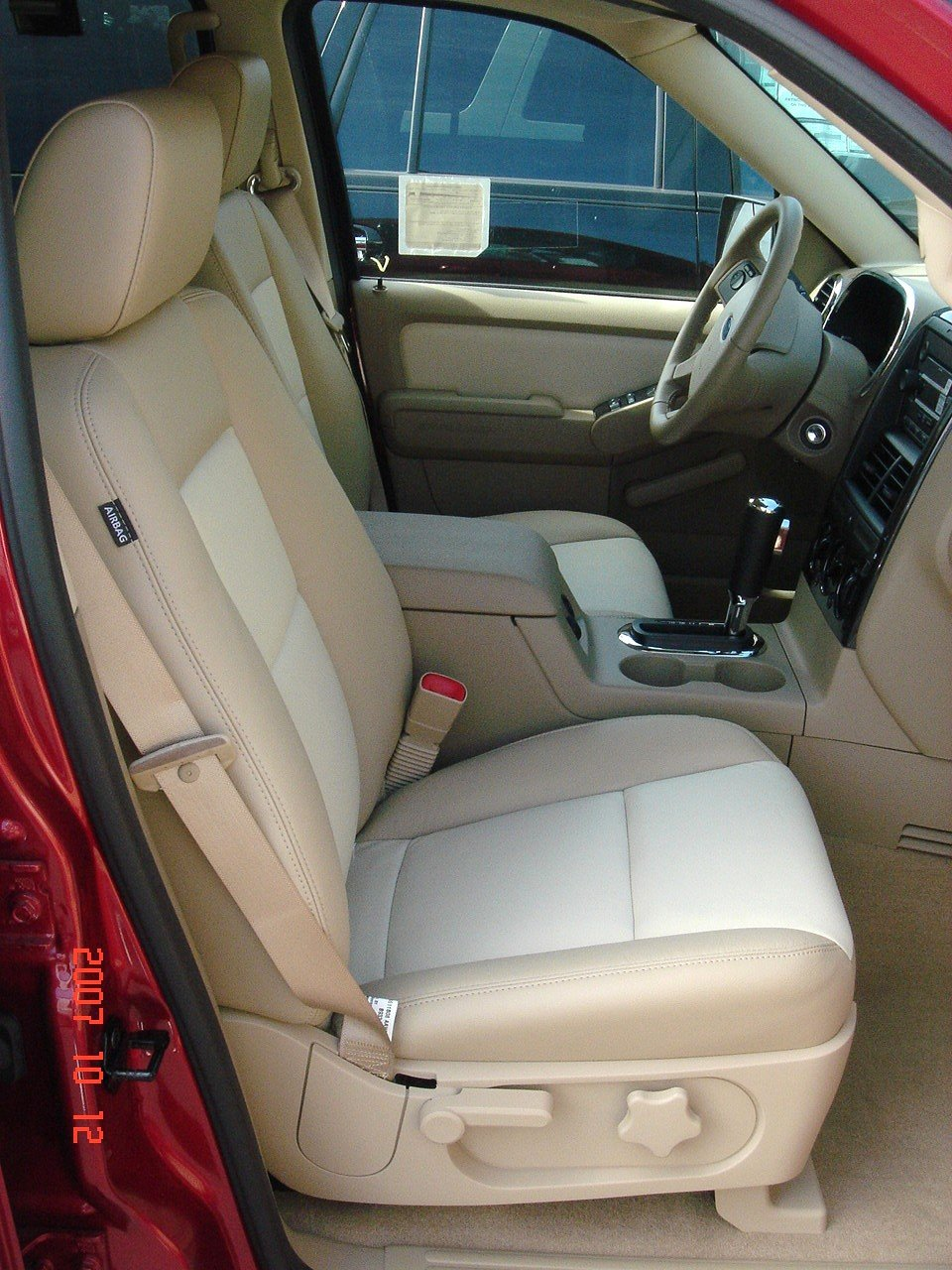 Outstanding Durafit Seat Covers 2006 2008 Explorer Front Bucket Seats With Side Impact Airbags In Seats Made In Tan Velour Andrewgaddart Wooden Chair Designs For Living Room Andrewgaddartcom
