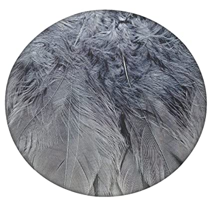 Plumas 2 Textura Redondo Mandala tapiz, Hippie Hippy estilo, manta cama colcha, gitana