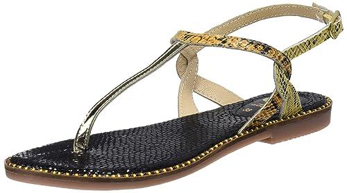 Gioseppo 44182, Chaussures Ouvertes Pour Les Femmes, L'or (multi Or), 36 Eu