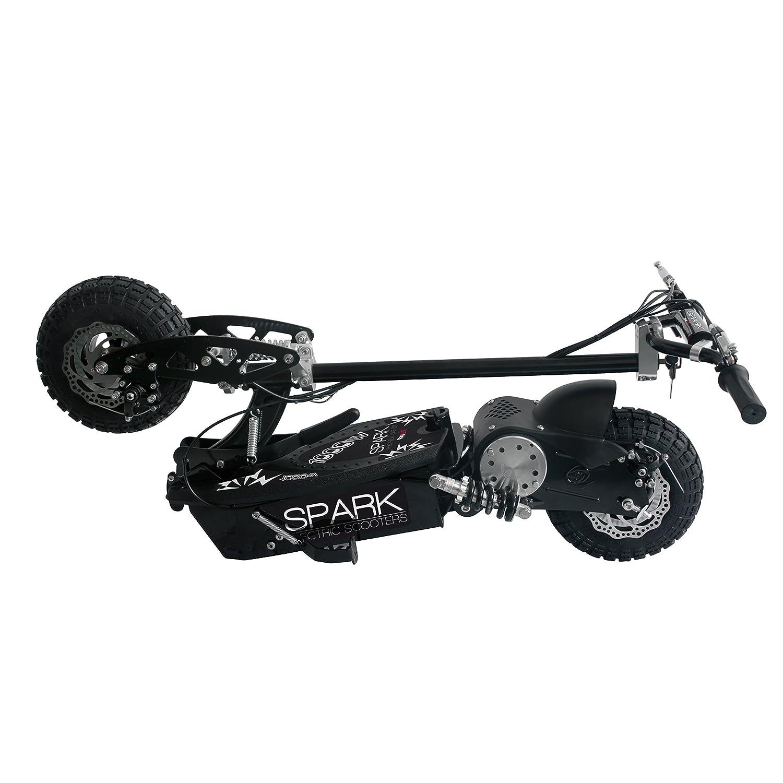 Patinete Eléctrico Raycool Spark 1000W - 35Km/h - Sillín desmontable - baterías de gel - ruedas con dibujo reforzado - frenos de disco [PROMOCION DE ...