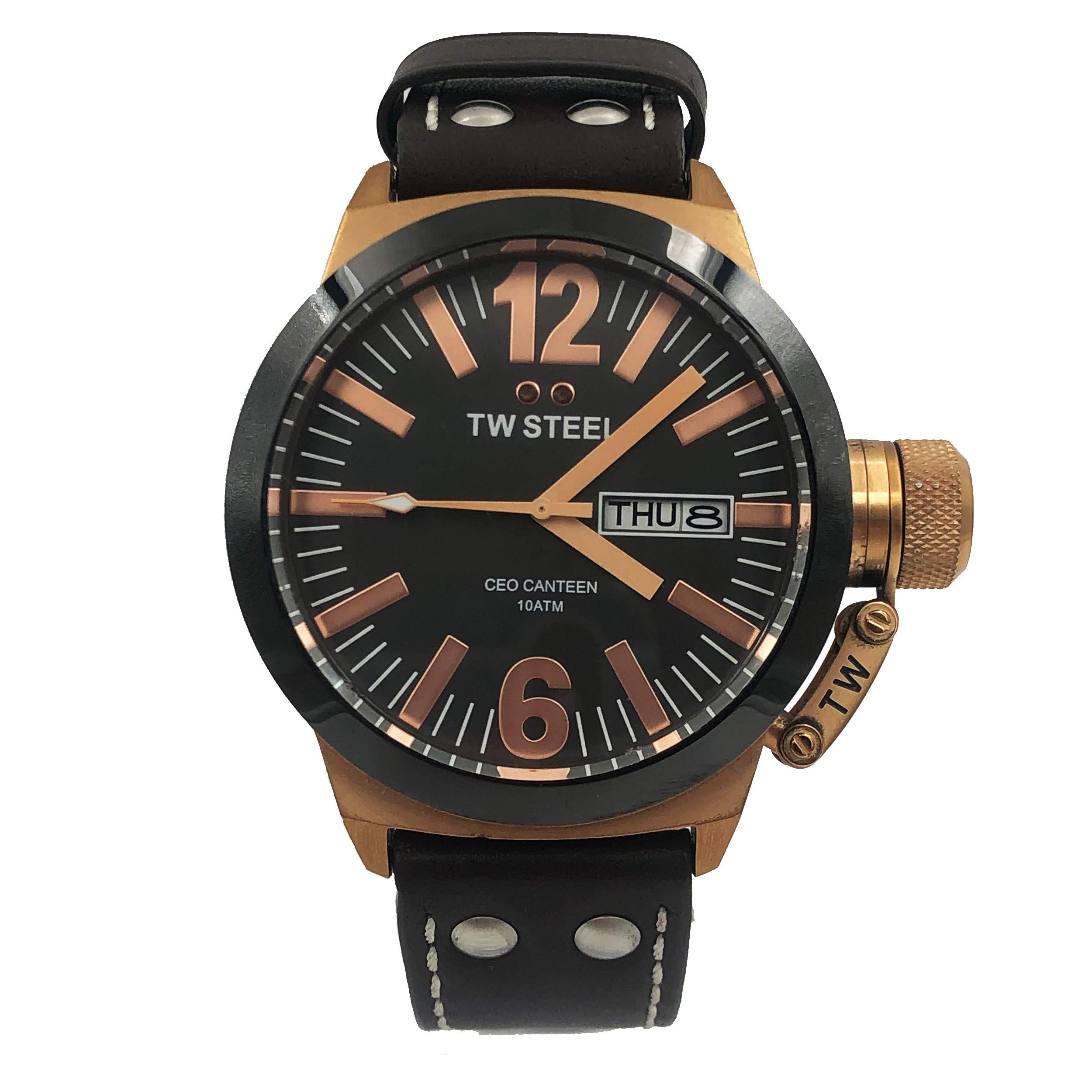 TW Steel Quartz Male Watch Canteen (Certified Pre-Owned) by TW Steel
