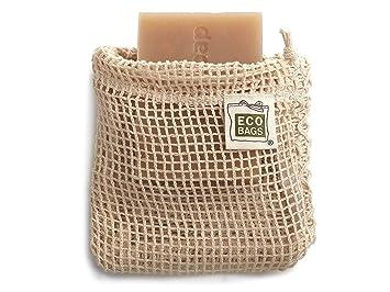Amazon.com: ECO bolsas bolsas de algodón la bolsa de jabón 4 ...