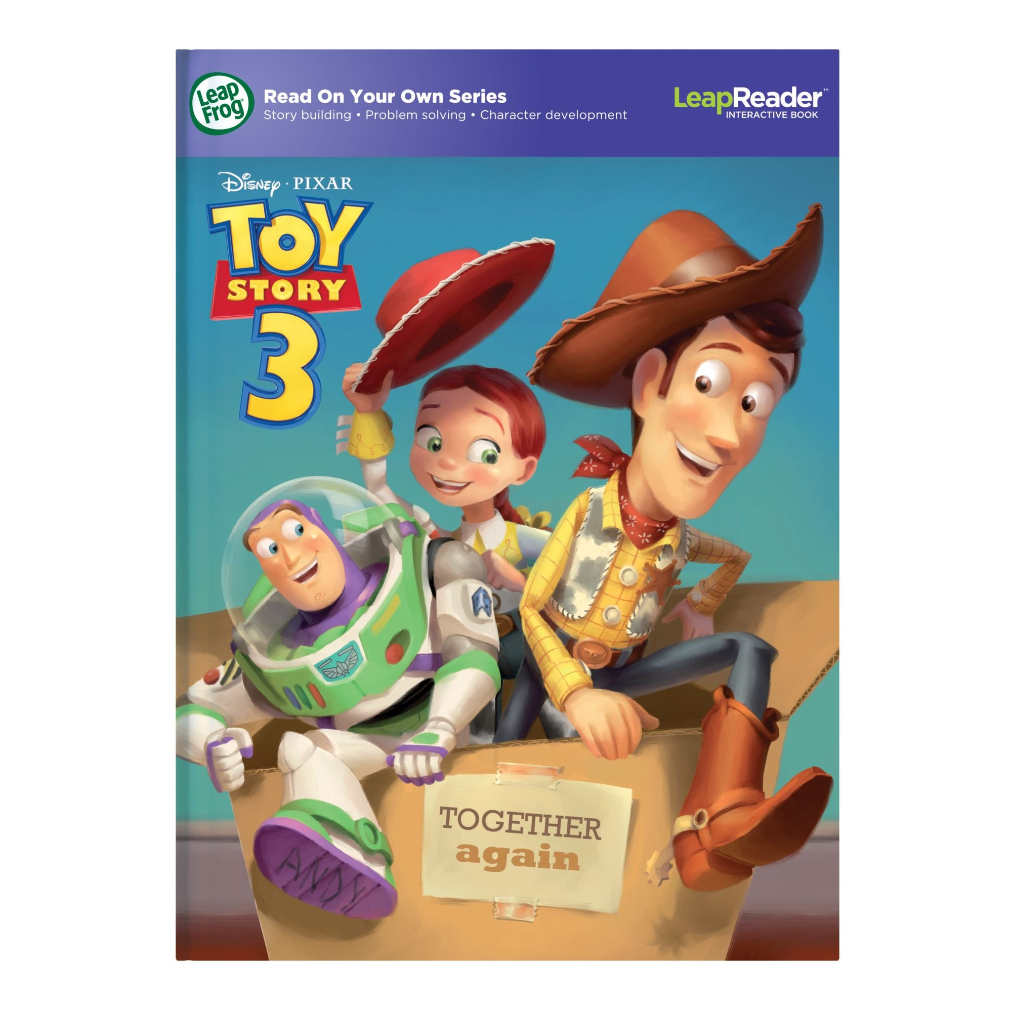 LeapFrog LeapReader Book: Disney Pixar Toy Story 3: Together Again (works with Tag) Packaging May Vary by LeapFrog (Image #7)