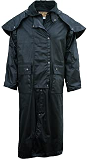 50f6da56133 Outback Trail by Foxfire, Oilskin, Oilcloth Waterproof Drover, Duster Long  Coat