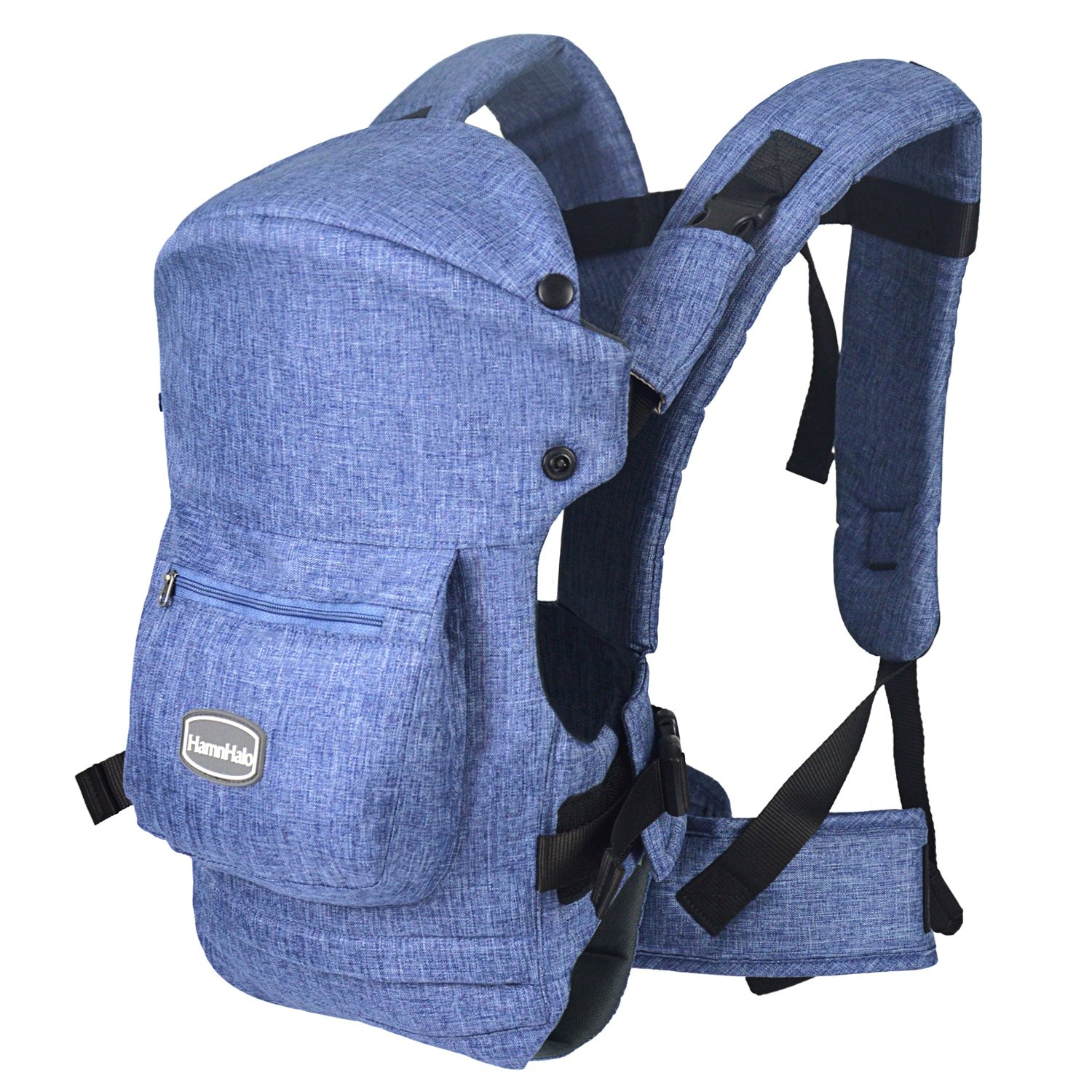 HarnnHalo Adjustable Baby Carrier with 3 Carrying Positions 007 Blue
