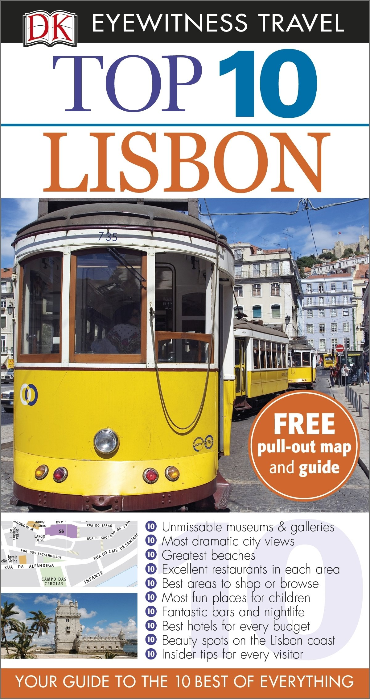 DK Eyewitness Top 10 Travel Guide: Lisbon (DK Eyewitness Travel Guide)
