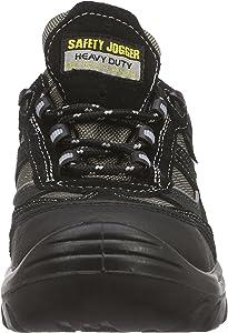 Calzado de protecci/ón de Cuero Nobuck Unisex Safety Jogger