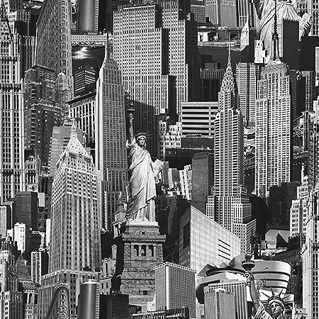 Muriva 102503 12 Novelties New York Wallpaper Rolls