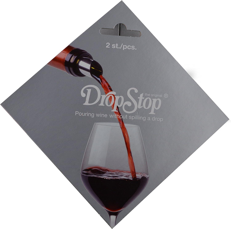 10 Stück Dropstop Drop Stop Stopp Wein Ausgießer Weinausgießer Flaschenausgießer