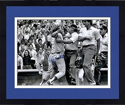 1d3d45f868e Framed George Brett Kansas City Royals Pine Tar Autographed 16