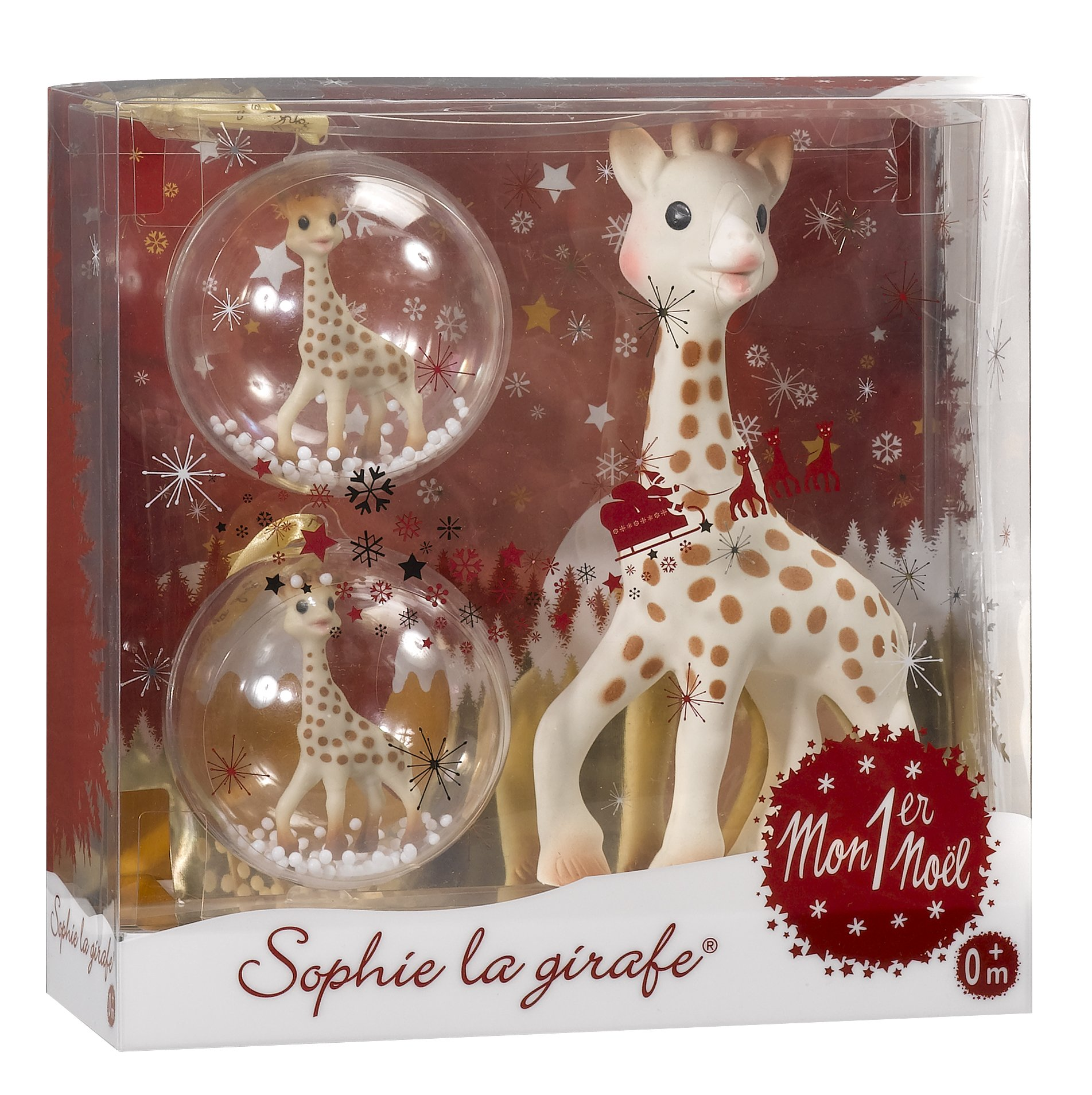 Sophie la Girafe My First Christmas Teether Gift Set