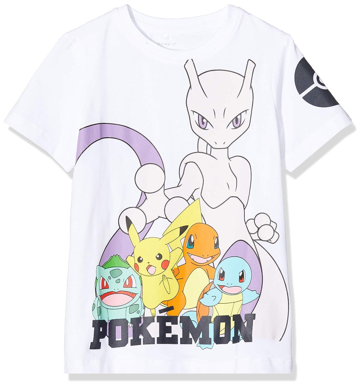Name IT NOS Nkmpokemon Minik SS Top Noos LIC T-Shirt Bambino