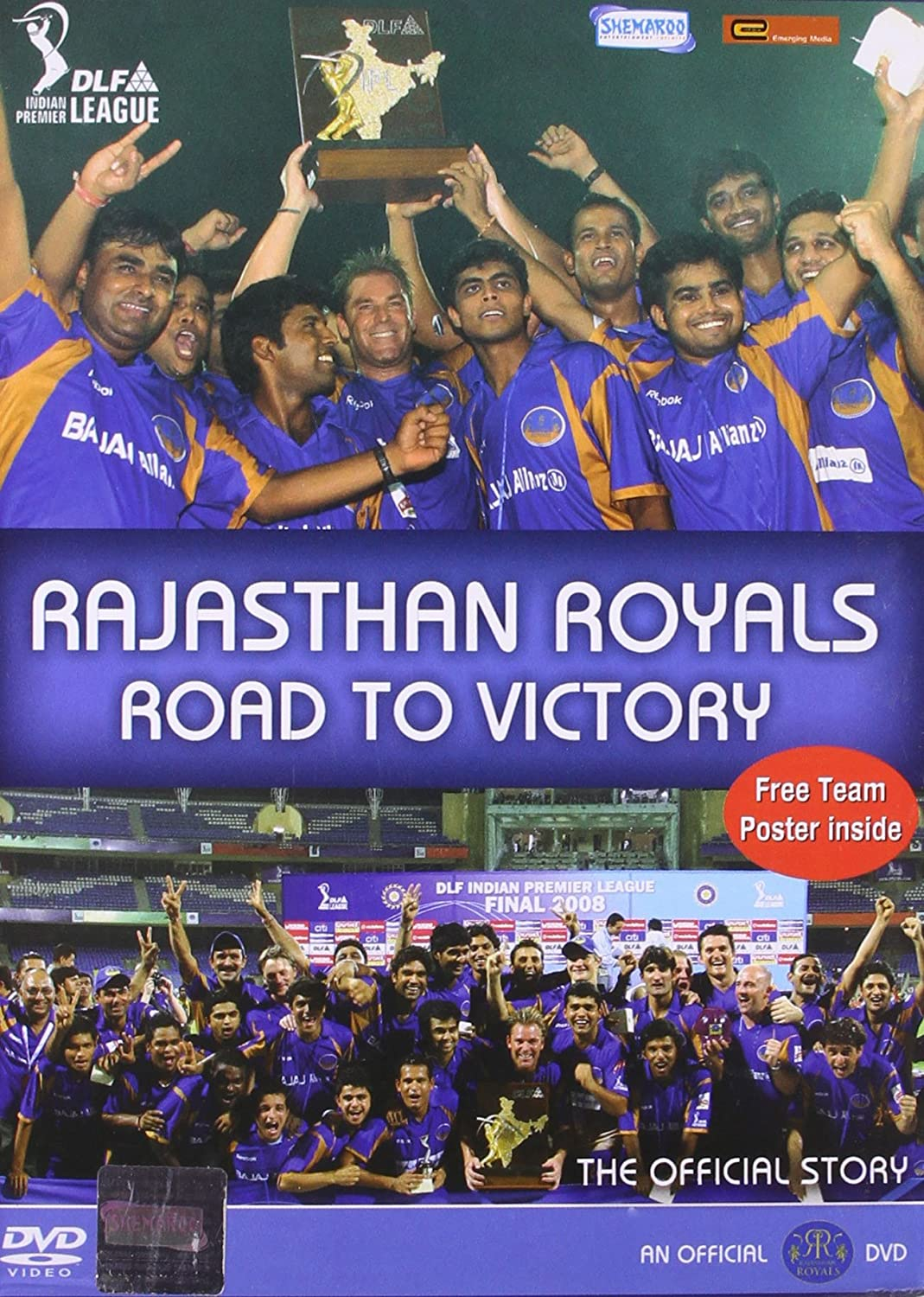 Rajasthan Royals - Road To Victory - IPL: Amazon.in: Rajasthan Royals Team, Rajasthan  Royals Team: Movies & TV Shows